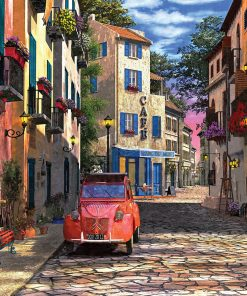 1000 Parça Yap boz Puzzle Rue Francais (11358) 68x48 Ks Games
