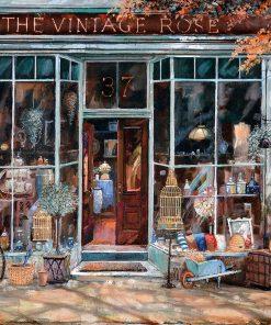 1000 Parça Yap boz Puzzle The Vintage Shop (11506) 68x48 Ks Games