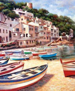 2000 Parça Yap boz Puzzle Bella Spiaggia (11509) 68x48 Ks Games