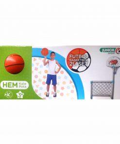 Basketbol Potası ve Futbol Kalesi Bir Arada Oyuncak Kutulu Özka 2221