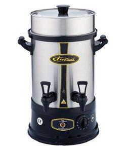 Çay Makinesi Otomatı Elektrikli Paslanmaz Çelik Semaver Makinası 50 Bardak