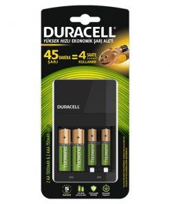 Duracell Cef 14 Pil Şarj Cihazı + 2 aa 1300mah + 2 aaa 750mah Şarjlı Pil Hediyeli