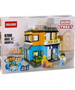 Ev Seti 466 Parça Bloklu Lego Oyuncak Canem 6700