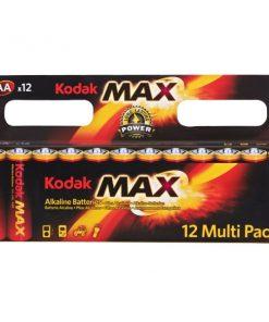 Kodak Alkalin 12 AA Kalem Pil 12 Multi Pack Kodak Max Pil