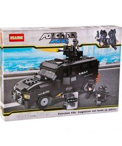 Panzerli Özel Harekat Timi Oyuncak 423 Parça Lego Seti Swat Canem 6509