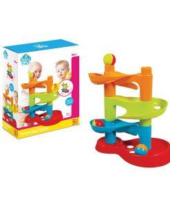 Smartland Kutulu Yuvarlama Kulesi Oyuncak MGS 5749 Bebek Oyuncağı