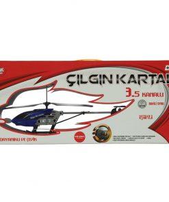 Uzaktan Kumandalı Helikopter Çelik Gövdeli 3.5 Kanallı Mavi R/C Oyuncak