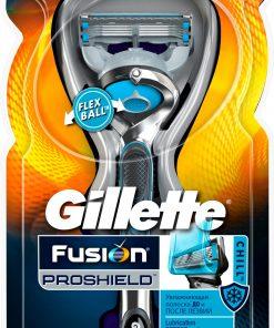 Gillette Fusion Proshield Chill Tıraş Makinesi FlexBall Fusion5