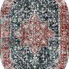 Oval Paspas Saçaklı Paspas Püsküllü Süngerli Hol Banyo Paspası 40x60cm Yeni Sezon 0367-5