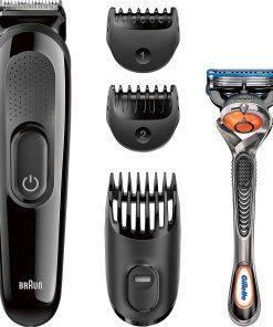 Braun SK3000 + Gillette ProGlide 4'ü 1 Arada Erkek Bakım Seti Sakal Kesme Saç Tıraş Makinesi