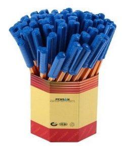 Pensan 60lı Tükenmez Kalem 1 mm Offispen Mavi 1010