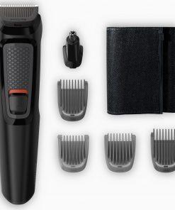 Saç & Sakal Kesme Makinesi Philips MG3710/15 Multigroom 3000 Series 6 in 1 Erkek Bakım Kiti