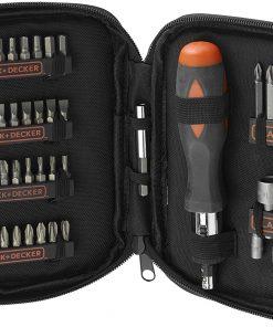 Black & Decker A7104 Aksesuar Set Metalik 1 Adet