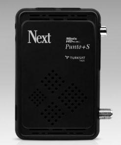 Next Uydu Alıcısı Black II Minix HD Punto S Plus HD Uydu Alıcısı