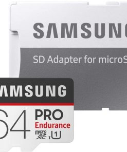 Samsung microSDHC Kart PRO Endurance 64GB 100 MB/s microSDHC Kart + SD Adaptör MB-MJ64GA/EU