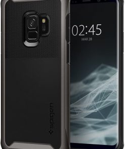 Spigen Telefon Kılıfı Samsung Galaxy S9 Kılıf Neo Hybrid Urban Gunmetal