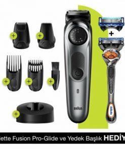 Braun Saç Kesme Makinesi BT7240 Saç ve Sakal Şekillendirici + Gillette Hediye