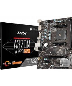 MSI A320M-A Pro Max AMD AM4 Soket A320 3200MHz DDR4 mATX Anakart