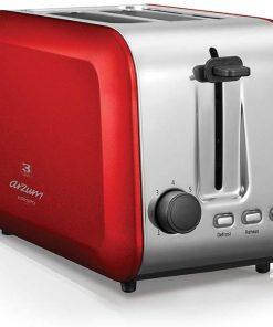 Arzum Ekmek Kızartma Makinesi AR2018 Krispo Ekmek Kızartma Makinesi Kırmızı
