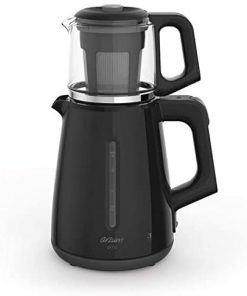 Arzum Çay Makinesi AR3061 Çaycı Çay Makinesi Siyah