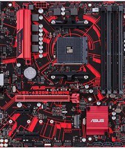 ASUS MB EX-A320M-Gaming AMD A320 Soket AM4 DDR4 2666 HDMI DVI M2 USB3.1 Aura RGB MATX