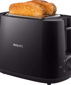 Philips Ekmek Kızartma Makinesi HD2581/90 Ekmek Kızartma Makinesi Siyah
