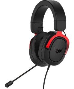 Asus Oyuncu Kulaklık TUF Gaming H3 7.1 Red Oyuncu Kulaklık