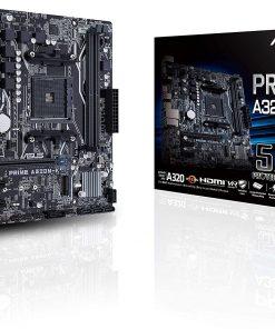 Asus Prime A320M-K AMD A320 AM4 DDR4 3200 HDMI VGA M2 USB3.1 mATX