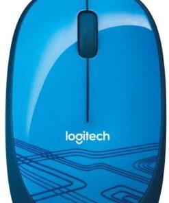 Logitech Mouse M105 Mavi Optik Kablolu Mouse