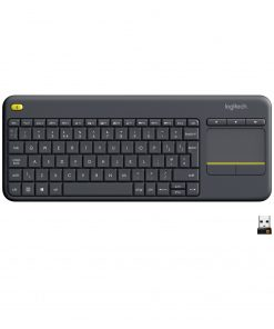 Logitech Kablosuz Klavye K400 Plus Siyah Smart TV Klavye