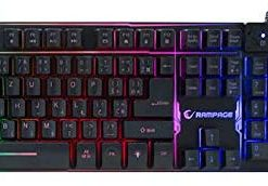 Rampage Klavye Mouse Set KM-RX9 CYPHER Siyah Usb Rainbow
