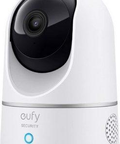 Anker IP Kamera T8410 Eufy Security 360 Derece Dönebilen Kızılötesi Gece Görüşlü Kamera - 2K HD -
