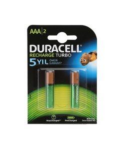 Duracell Şarj Edilebilir AAA 850 mAh 2li Pil