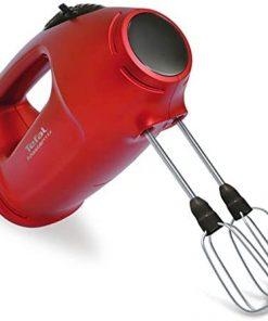 Tefal El Mikseri HT4005B30 Mastermix 425 Watt Paslanmaz Çelik El Mikseri Kırmızı